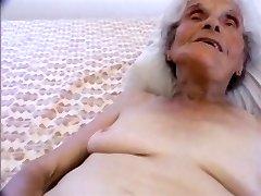 youthful guy pounding the oldest mega-slut on the internet
