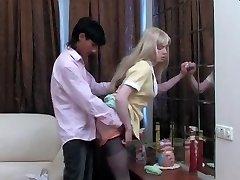 Blondinka Crossdresser