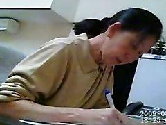 Ekte kvinnelig lege Dick Eksamen 2