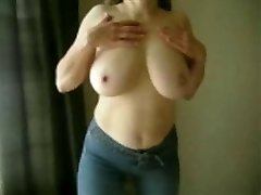MarieRocks, 50+ MILF - Big Melons Braless in Jeans