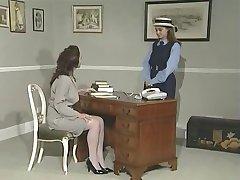 Lesbian headmistress and her fun PT 1