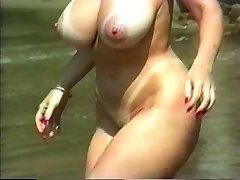 big natural beach blonde