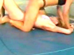 Lesbian Wrestling, Loser Fked 2 lesbian girl on girl lesbians