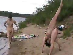 Нудистский Пляж - Гимнаст - Максимальный Уровень