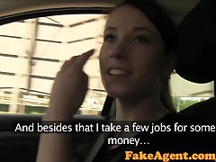 FakeAgent Deux hot amateurs impressionner au casting interview