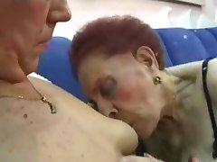 Бабуля Любит Анал