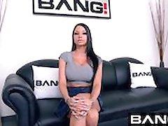 BANG Casting: Raven Straight A Slut DDD Tits
