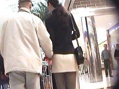 连裤袜超短裙
