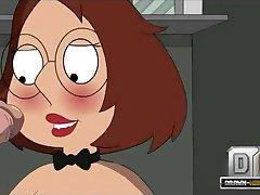 Family Guy Porn - Meg comes into closet