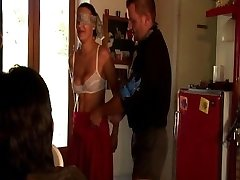 Mature gangbang after nice biking trip