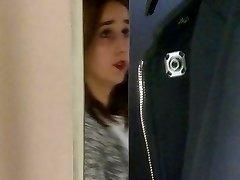 Blinkande i omklädningsrum 2