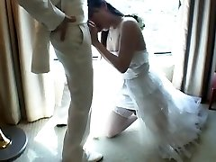 Japanese Tgirl Smashes New Husband After Wedding