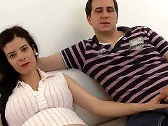 怀孕西班牙语的妻子共用