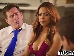TUSHY First Anal For Brazilian Beauty Luna Star