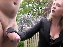Gigantic Dick Gets Jerked and Cum