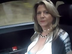 52 YO MILF car riding prtTwo