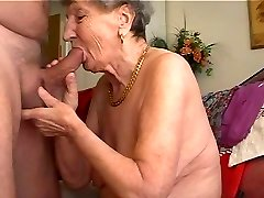 Grandmother likes to play the flute 1