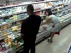 Livsmedelsbutik Gangbang Orgie