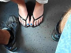 Modri Nohti, Vlak Skrivnost Footsi