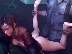 Ellie gets rammed (The Last of Us)