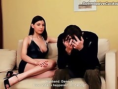 Hot wifey humped in front of husband