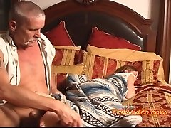 Teen Babysitter USED by OLD Dude