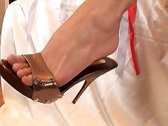 stopala fantazije z mya diamant in vroče prijatelj