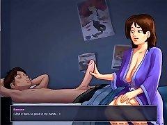 妈妈去的儿子's卧室-卡通