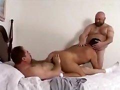Сумасшедший мужчина в великолепных неоседланных лошадях, медведи гомо порно клип