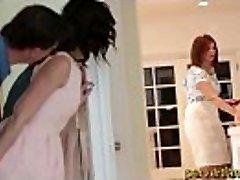Pervertfamily- Dad fucks Daughter on her Bday while Mom prepares Cake