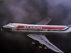 Alpha France - French porn - Full Movie Scene - Les Hotesses Du Sexe (1977)