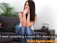 FakeAgent Sexy student gets fucked hard in casting pohovor