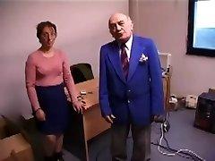 Hässliche Frau fickt Und Leckt Alte Mann's Ass