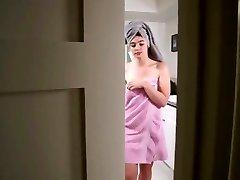 Not Stepsister Bathroom Handjob