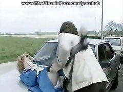 Accidente de vídeo de duro sexo al aire libre