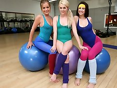 Add 3some in this yoga session