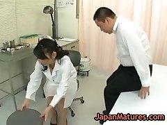 Nurse natsumi kitahara gets her vulva