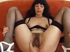 French Milf Hairy