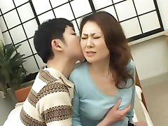 Mina Toujou sexy Mutter genießt part4
