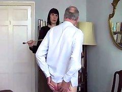 Headmistress canes Sir John
