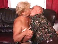 Grandma and Grandpa doing what they do best!!!!