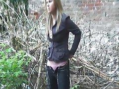 Pissen schönen Russischen Mädchen