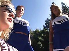 BBW Reife rothaarige cheerleader bekommt geschraubt von der spa