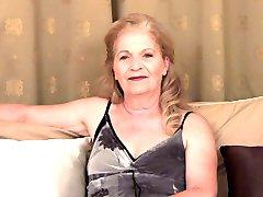 Granny - Interview and Masturbation