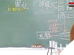 Japanska Jätten Bröst Lärare