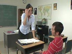 Professor klassrummet förförelse