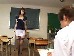 Kåt japanska lärare - ocensurerad