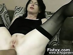 Fist Pegging And Perversion For Sexy Hottie