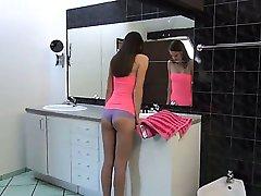 fluent Czech model Sylvie gaping