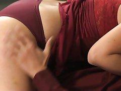 All natural MILF seducing her boytoy
